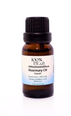 100% Pure Rosemary Essential Oil, rosmarinus officinalis ct cineole, Morocco