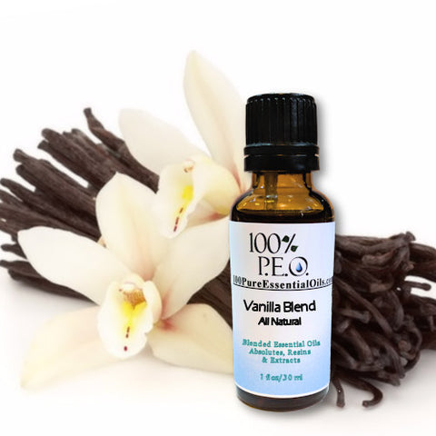 Vanilla Essential Oil Absolute - Natural Blend