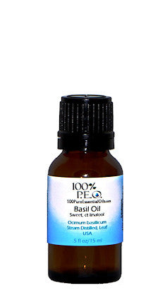 Buy Sweet Basil Essential Oil, 1/2oz (15ml)