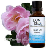 Rose oil absolute (rosa damascena) Bulgaria
