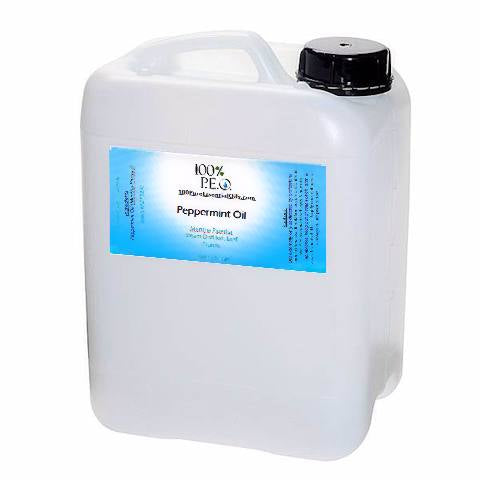 Peppermint Oil Gallon, Wholesale, High Menthol