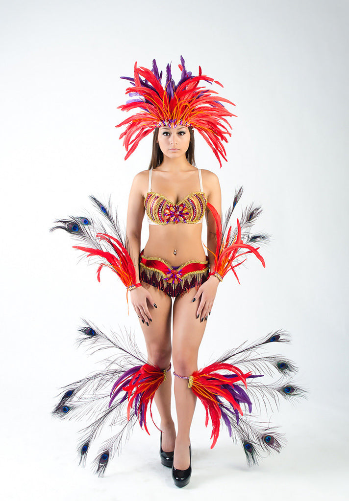 Wild Flower Full Costume