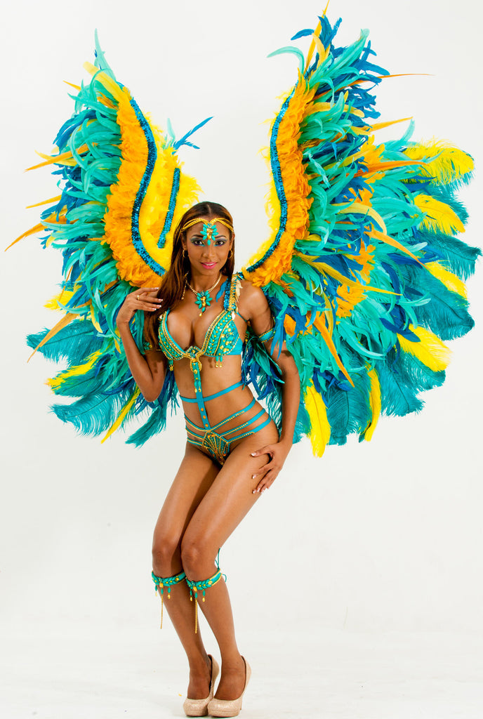 Tropical Bird Costume
