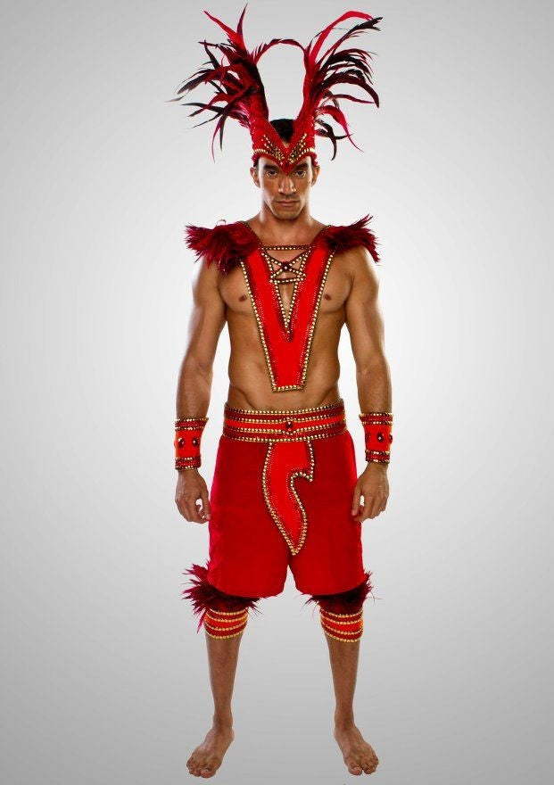 Red Moon Male Costume