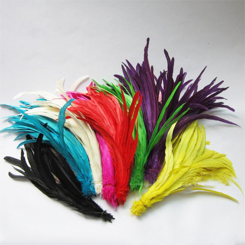 Coque Rooster Tail feathers -14-16in