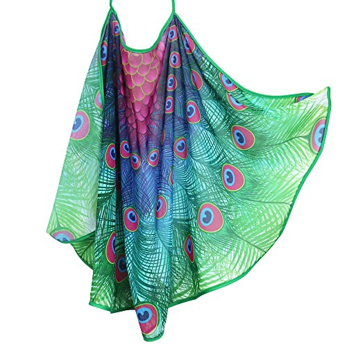 Kids peacock cape