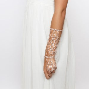 Rhinestone arm candy