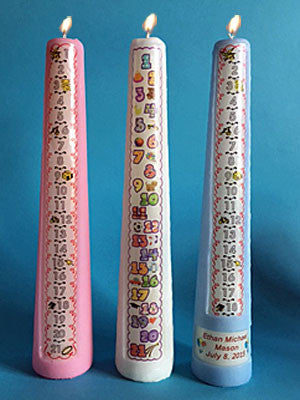 Birthday Countdown Candles