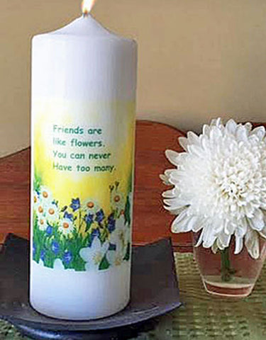 Friendship Inspirational Candle