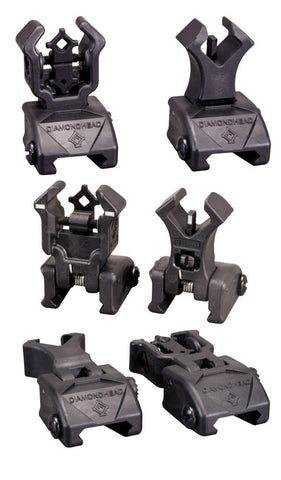 Diamondhead Poly Sight Set with NiteBrite Inserts