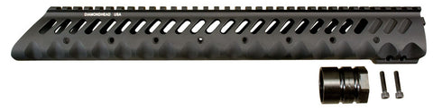 Diamondhead VRS-T 13.5in Free Floating Handguard for AR15 / M16