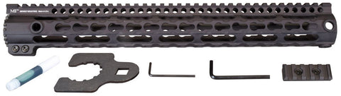 Midwest Industries Key Mod 15 inch One Piece Handguard for .308 AR15 platform rifles