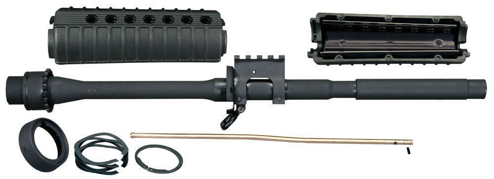 16in M4 Crowned Barrel Kit with MIL-STD-1913 Railed Gas Block - .223/5.56mm Caliber