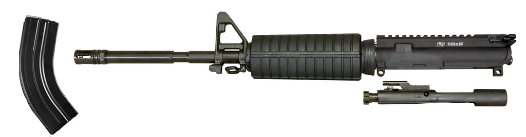 Upper Receiver / Barrel Assembly for 7.62x39 with A2 Front Sight - Less Carry Handle