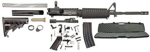 Windham Weaponry .223/5.56 Rifle Kit with Diamondhead Rear Flip Sight