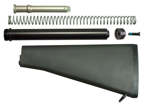 A2 Solid Buttstock for AR15 / M16