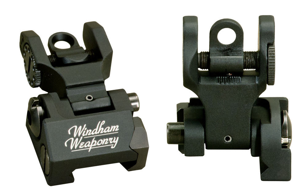 Troy Rear Flip Sight for AR-15 / M16