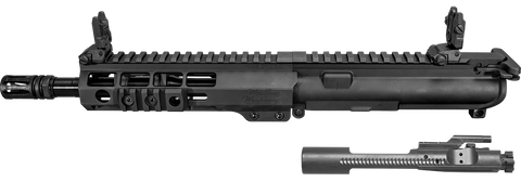 .223/5.56mm Pistol Upper Receiver Assembly