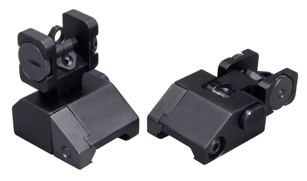 Aluminum Rear Flip Sight for AR15 / M16