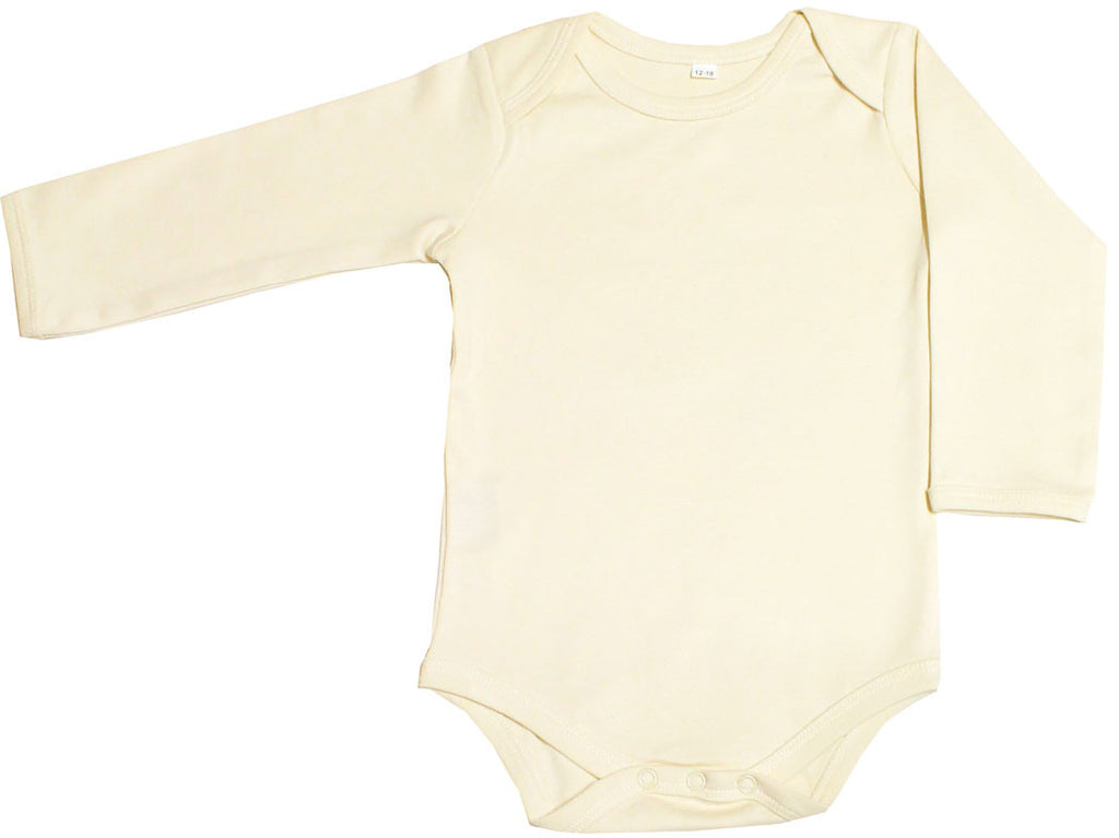Organic Baby Clothing Long Sleeve Onesies Gots Certified Cotton