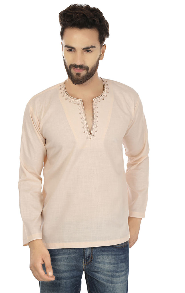 Short kurta shirts for men
