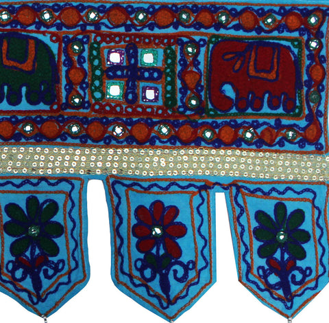 Door Decoration Handmade Toran Window Valance From India Maple Clothing Inc