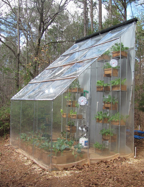 HARVESTING DAILY FROM A YEAR-ROUND VERTICAL GREENHOUSE: #1 THE CONCEPT