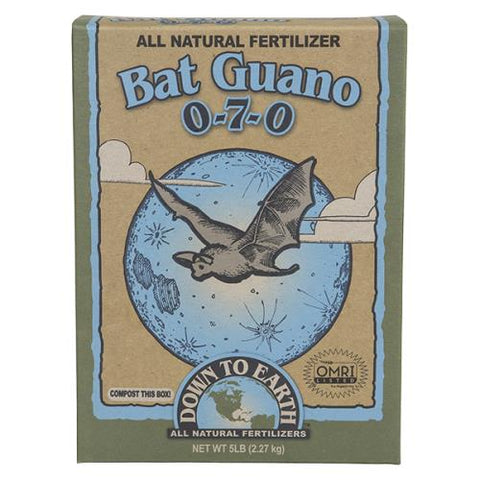 Amend your soil with Bat Guano