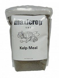 Amend garden soil with kelp meal