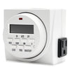 TG Digital Timer - 7 Day Dual Outlet
