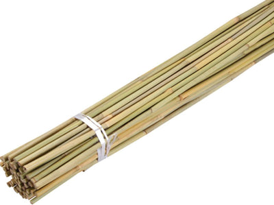 Top Grower Bamboo Plant Support Stakes, 6 ft - 25 pcs