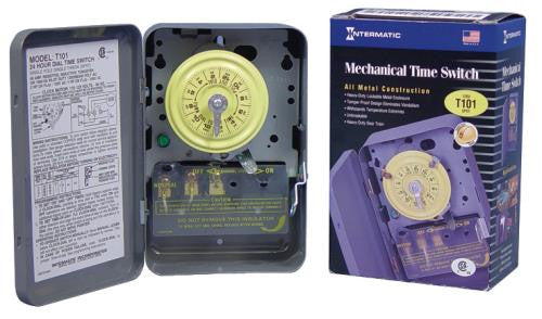 Intermatic T101 Commercial Grade Timer 120 Volt - taphydro & Timers u0026 Lighting Controllers azcodes.com