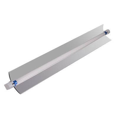 T5 Single 4' 54W Fluorescent Fixture w/ Reflector