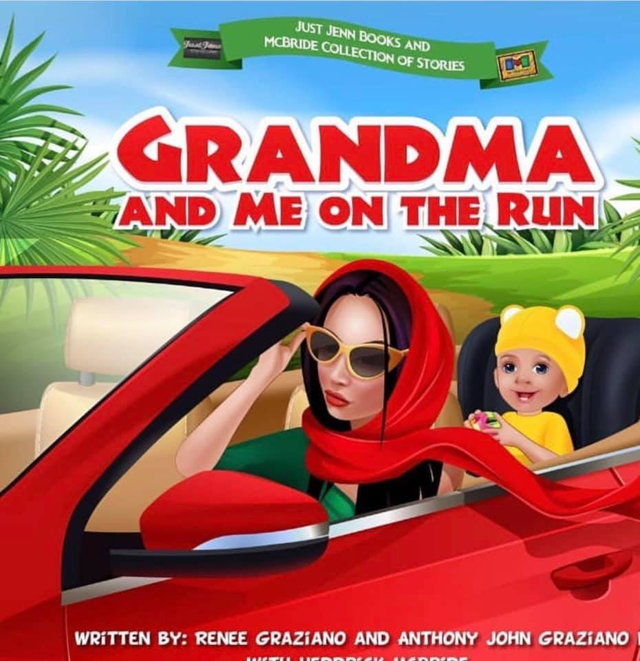 Grandma & Me on The Run Book by Renee Graziano
