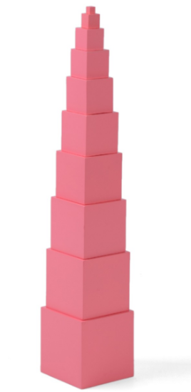 Pink Tower 10 cm