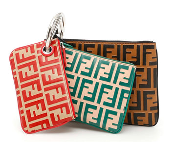Fendi Triplette FF Pouch - Luxury Next Season