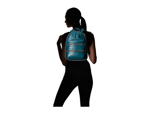Marc Jacobs Biker Backpack Teal Backpack Bag - Luxury Next Season