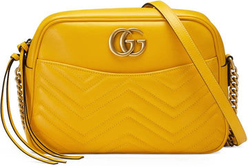 Gucci GG Marmont Matelassé Medium Shoulder Bag - Luxury Next Season