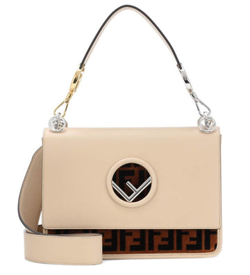 Fendi F Logo Shoulder Bag - Luxury Next Season
