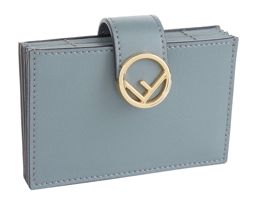 Fendi F Logo Card Case - Luxury Next Season