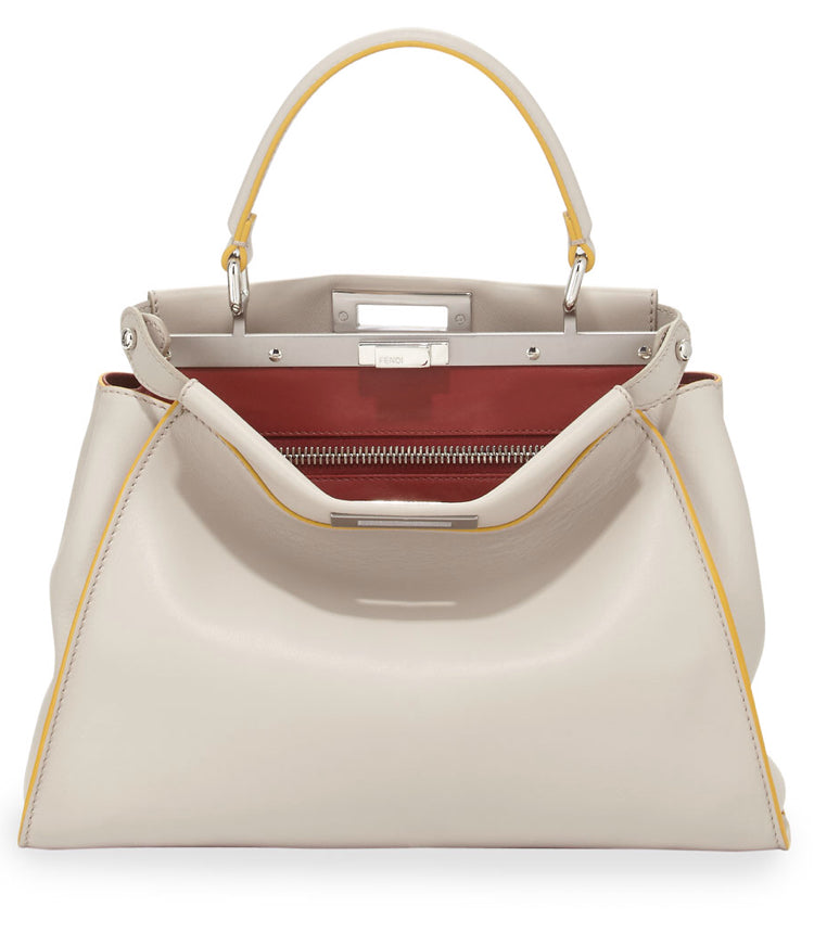 Fendi Tricolor Medium Peekaboo Bag - Luxury Next Season