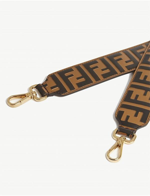 Fendi Double FF  Logo Straps - Luxury Next Season