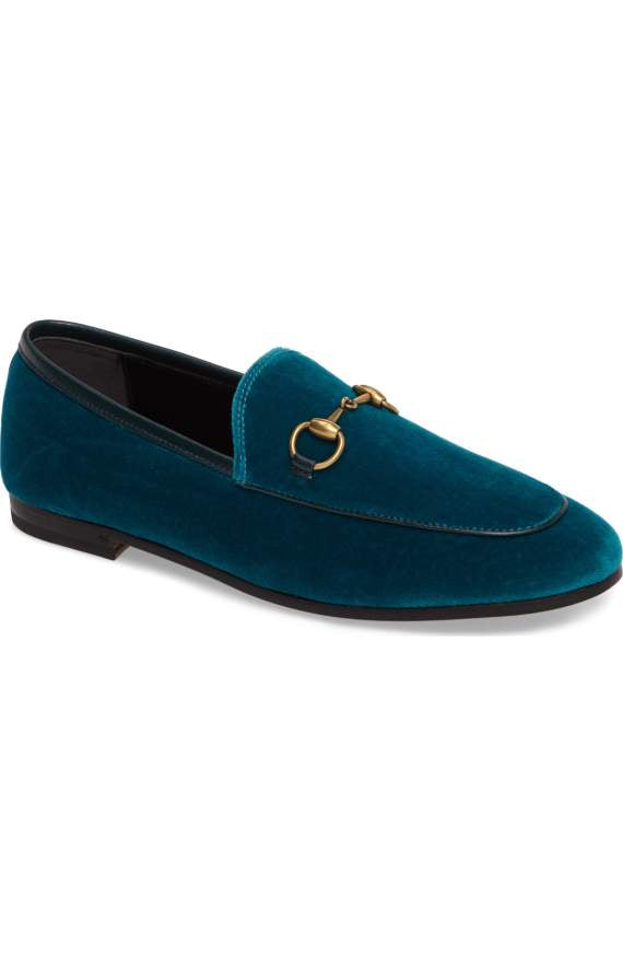 Gucci Brixton Velvet Loafer - Luxury Next Season