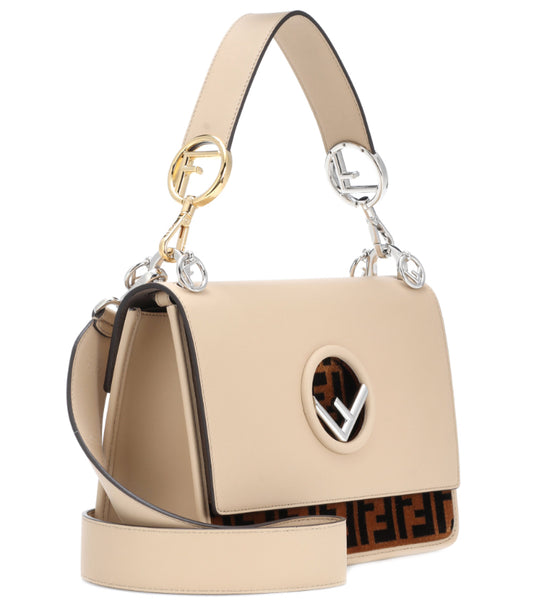 Fendi F Logo Shoulder Bag
