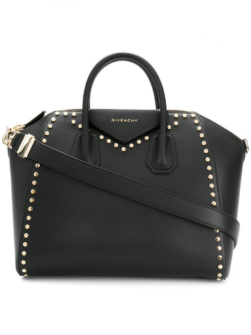Givenchy Studded Antigona Black Bag - Luxury Next Season