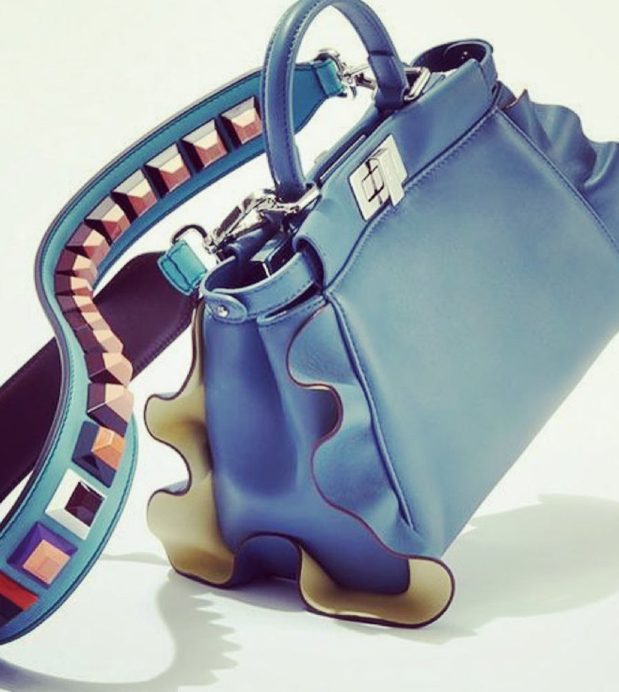 Fendi Wave Peekaboo Micro Bag - Luxury Next Season