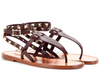 Valentino Studded Double Leather Sandals 8
