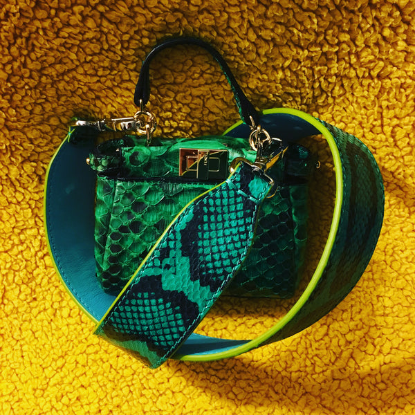 Fendi Micro Python Bags-Special Edition Luxury Next Season
