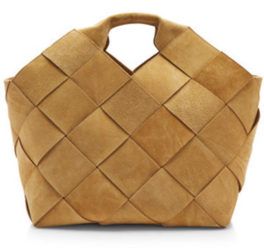 Handmade Woven Suede Bag - Luxury Next Season