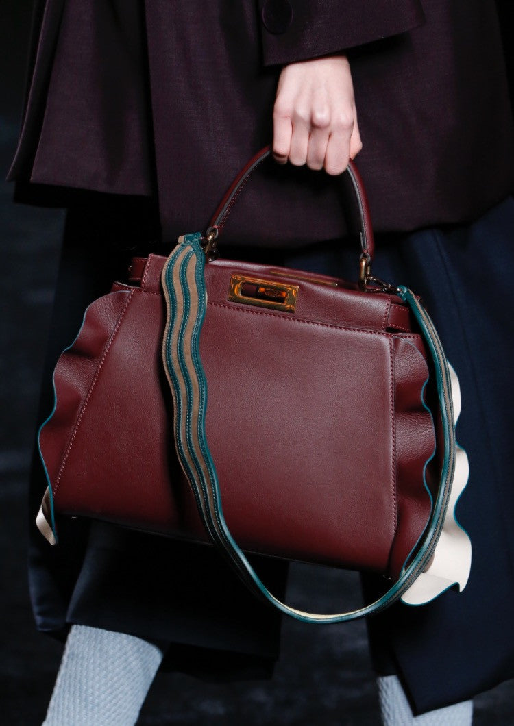 Fendi Wave Peekaboo Mini Bag - Luxury Next Season